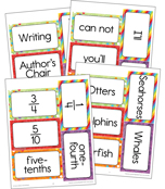 Celebrate Learning Adjustable Printable Pocket Chart Activities Product Image