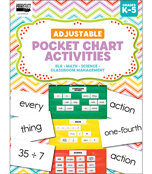 Adjustable Printable Pocket Chart Activities Product Image