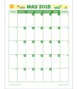 May Monthly Printable Collection Product Image