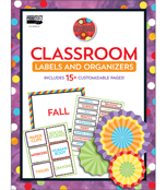Celebrate Learning Printable Labels & Organizers Product Image