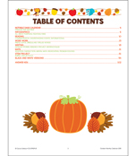 October Monthly Printable Collection Printable Collection Product Image