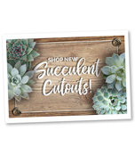 Succulent Printable Cut-Outs Product Image