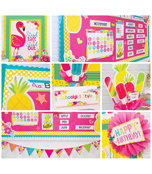 Just Teach Pina Colada Pineapple Printable Classroom Collection Product Image