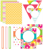 Pina Colada Pineapple Printable Classroom Collection Product Image
