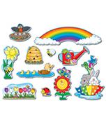 Spring Mini Bulletin Board Set Product Image