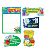 Earth-Friendly Reminders Bulletin Board Set Product Image