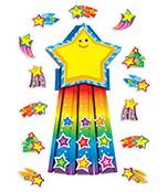 Shooting Stars Bulletin Board Set Product Image