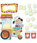 Poppin' Popcorn Bulletin Board Set Product Image