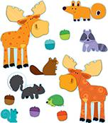 Moose & Friends Bulletin Board Set Product Image