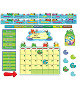 FUNky Frogs Bulletin Board Set Product Image
