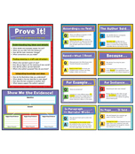 Evidence-Based Reading and Writing Bulletin Board Set Product Image