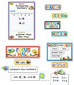 Boho Birds Focus Wall Bulletin Board Set Product Image