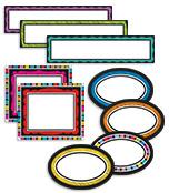 Colorful Chalkboard Classroom Management Mini Bulletin Board Set Product Image