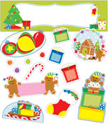 Holiday Fun Mini Bulletin Board Set Product Image