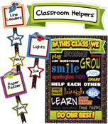 Super Power Classroom Management Bulletin Board Set Product Image