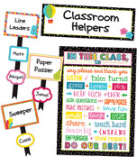 School Pop Classroom Management Bulletin Board Set Product Image