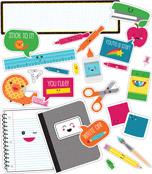 School Pop School Tools Mini Bulletin Board Set Product Image