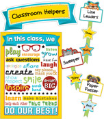Hipster Classroom Management Bulletin Board Set Product Image