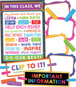 Clip Chart Classroom Management Bulletin Board Set Product Image
