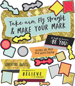 Make Your Mark Printable Bulletin Board Set Product Image