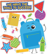 We Have the Tools to Succeed! Bulletin Board Set Product Image