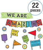 We Are Amazing Bulletin Board Set Product Image