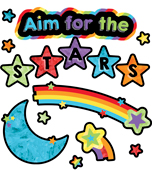 Aim for the Stars Mini Bulletin Board Set Product Image