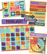Nature Explorers Calendar Bulletin Board Set Product Image