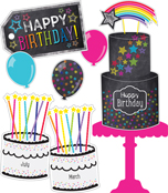 Twinkle Twinkle You're A STAR! Birthday Bulletin Board Set Product Image