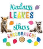 Kindness Leaves Others Encouraged Bulletin Board Set Product Image