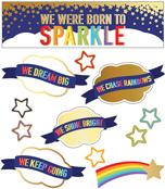 We Were Born to Sparkle Mini Bulletin Board Set Product Image