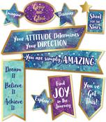 Motivational Signs Mini Bulletin Board Set Product Image
