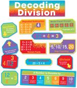 Decoding Division Mini Bulletin Board Set Product Image