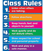 Class Rules Chart Product Image