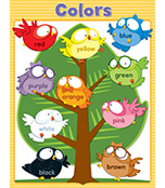 Owl Pals Colors Chart Product Image