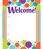 Calypso Welcome Chart Product Image