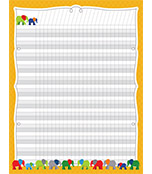 Parade of Elephants Incentive Chart Product Image