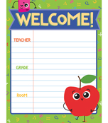 School Tools Welcome Chart Product Image