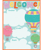 Up and Away Welcome Chart Product Image