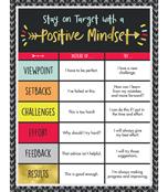 Aim High Positive Mindset Chart Product Image