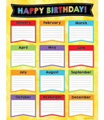 Celebrate Learning Birthday Chart Product Image