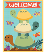Nature Explorers Welcome Chart Product Image