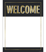 Sparkle + Shine Gold Glitter Welcome Chart Product Image