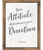 Your Attitude Determines Chart Product Image