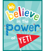 We Believe in the Power of Yet! Chart Product Image