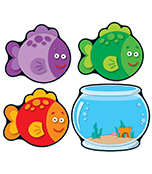 Fish & Bowls Cut-Outs Product Image