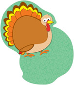 Turkeys Mini Cut-Outs Product Image