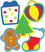 Holiday Mix Mini Cut-Outs Product Image