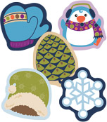 Winter Mix Mini Cut-Outs Product Image