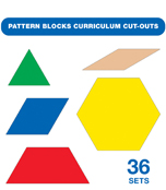 Pattern Blocks Curriculum Cut-Outs Product Image